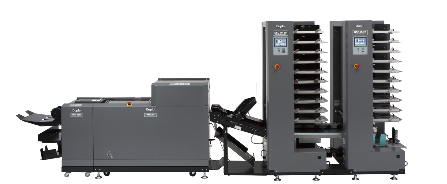 350C Booklet System Image