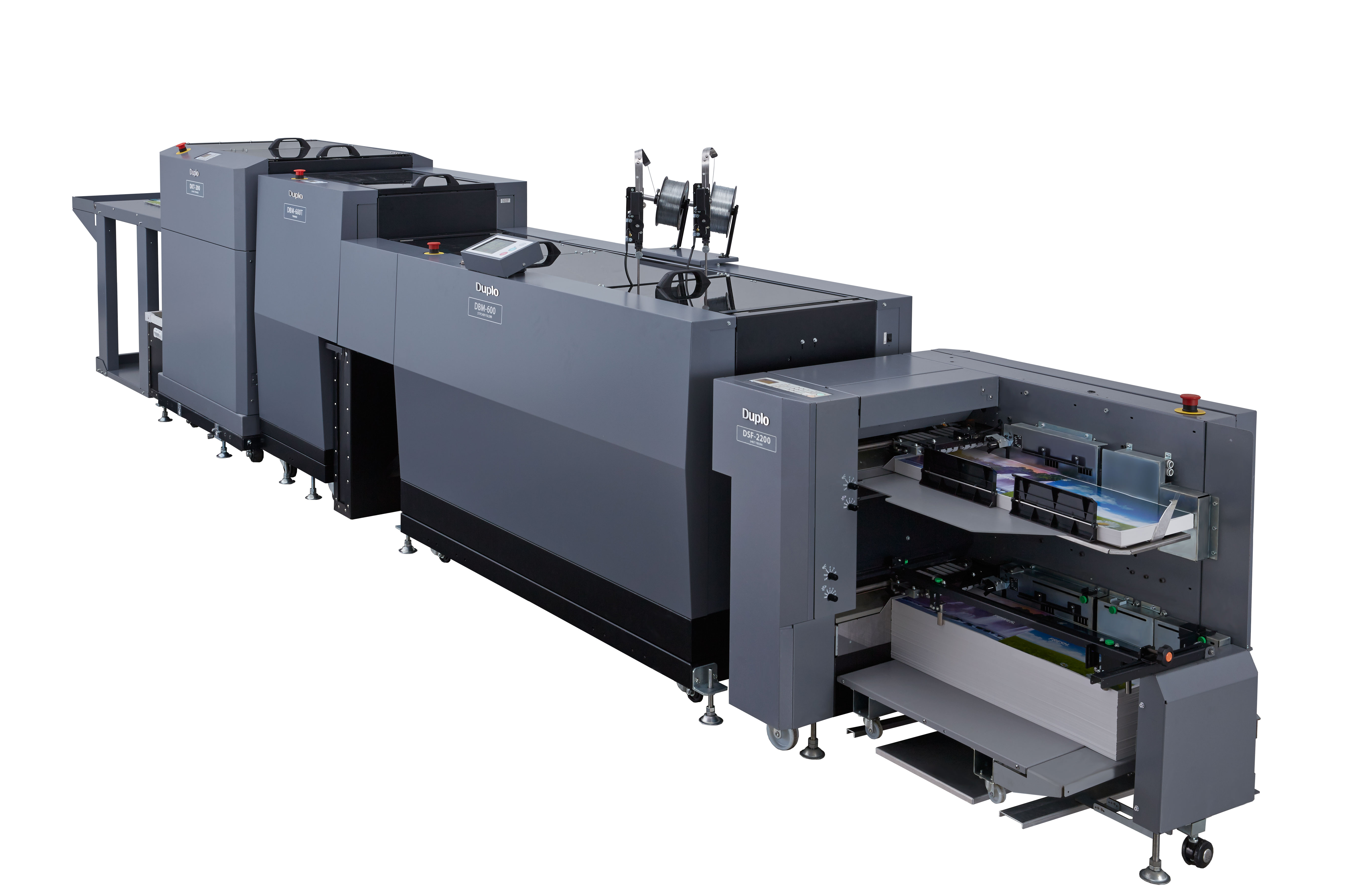 600i Digital Booklet System Image